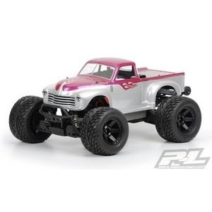 Pro Line Racing . PRO pro-Line Early 50's Chevy Pickup Body (Clear) (Stampede)