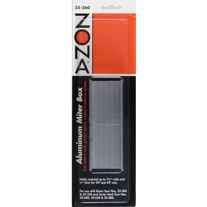 Zona Tool Company . ZON MITRE BOX WIDE SLOT