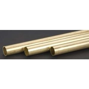 "K&S Engineering . K+S 9/16 (.029WALL) X 36"""" BR TUBE"
