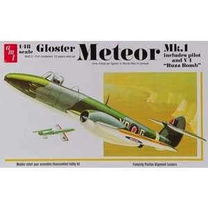 AMT\ERTL\Racing Champions.AMT 1/48 Gloster Meteor MK-1 Fighter Jet