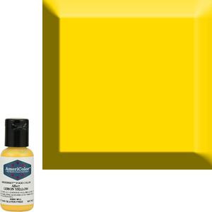 AmericaColor . AME AmeriMist .65oz Airbrush – Lemon Yellow