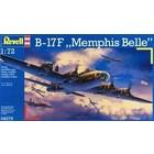 Revell of Germany . RVL 1/72 B-17F MEMPHIS BELLE