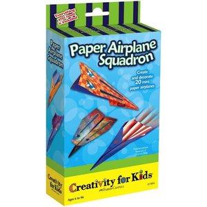 Creativity for kids . CFK Paper Airplane Squadron Mini Kit