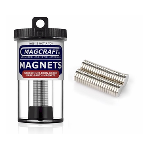 Magcraft Magnets . MFM 3/8X1/16 Rare Earth Disc Magnet
