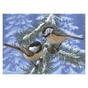 Royal (art supplies) . ROY Pine Birds Paint By Number