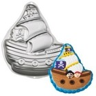 Wilton Products . WIL (DISC) - Pirate Ship Cake Pan