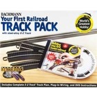 Bachmann Industries . BAC HO Steel Ez Wgh Track Pack