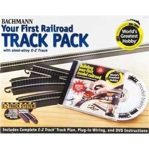 Bachmann Industries . BAC HO Steel Ez Wgh Track Pack