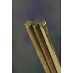 K&S Engineering . KSE 0.072 X 12'' Solid Brass Rod
