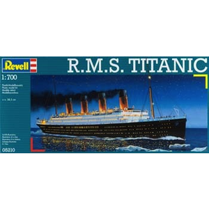 Revell of Germany . RVL 1/700 RMS Titanic
