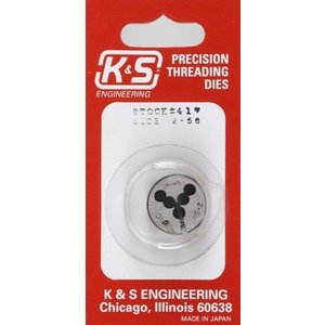 K&S Engineering . KSE Threading Die2-56