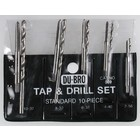 Du Bro Products . DUB 10 Pc Stand Tap & Drill Set