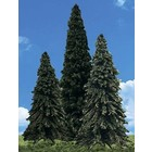 """Woodland Scenics . WOO FOREVER GREEN TREES 6""""- 7"""" (3)"""