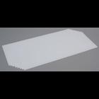 "Evergreen Scale Models . EVG White Sheet .010"""" Long"