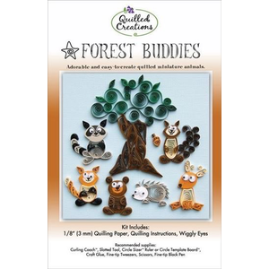 Quilled Creations . QUI Forest Buddies Quilling Kit