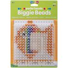 Perler (beads) PRL Perler BIGGIE Beads Pegboards 2/Pkg - Clear