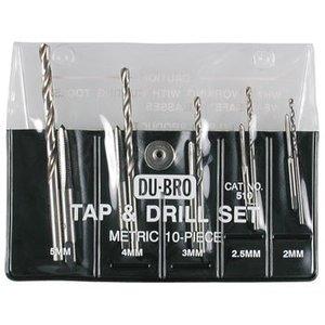 Du Bro Products . DUB 10Pc Metric Tap & Drill Set