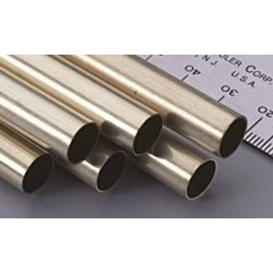 K&S Engineering . KSE Brass round tube 3/8''