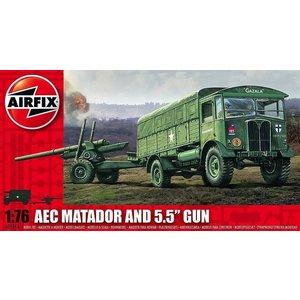 """Airfix . ARX 1/72 MATADOR & 5.5"""" GUN"""