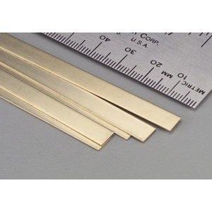 K&S Engineering . K+S Brass Strips 36 X .016 X 1/4