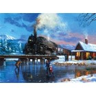Royal (art supplies) . ROY Winter Magic - Paint By Number Kit Painting Nature Calgary
