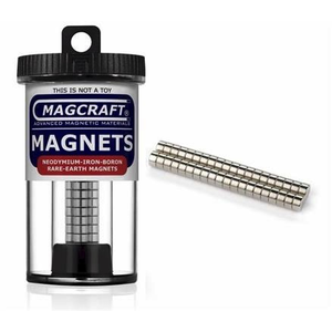 Magcraft Magnets . MFM 1/4X1/8 Rare Earth Disc Magnet