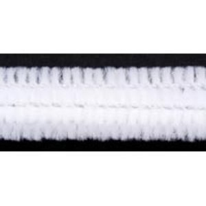 "Darice . DAR 12"" X 12 mm White Chenille Stems"