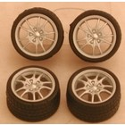 Pegasus Hobbies . PGH 1/24-1/25 SIL M5'S RIMS W/TIRE