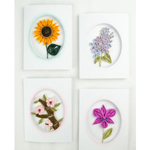 Quilled Creations . QUI Elegant Floral Cards Quilling Kit