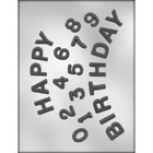 CK Products . CKP Happy Birthday / Numbers Chocolate Mold