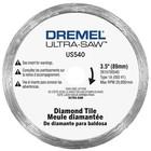 Dremel . DRE ULTRA-SAW DIAMOND TILE CUT WHEEL