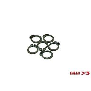 Gaui . GAI GAUI X3 C-Clip pack 6pcs