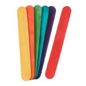 Darice . DAR Jumbo Multi-Color Craft Sticks