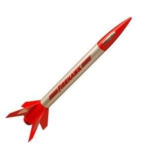 Estes Rockets . EST Firehawk Model Rocket Kit (E2X)