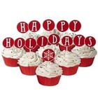 """Wilton Products . WIL (DISC) - Fun Pix - """"Happy Holidays"""""""