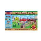 Melissa & Doug . M&D Swival Bridge Train Set