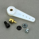 Du Bro Products . DUB 1 1/4 LONG STEERING ARM W/CONN