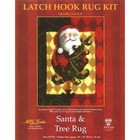 MCG Textiles . MCG SANTA/TREE LATCH HOOK