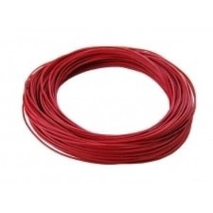 Common Sense R/C . CSR 24 G SILICONE WIRE 1' RED