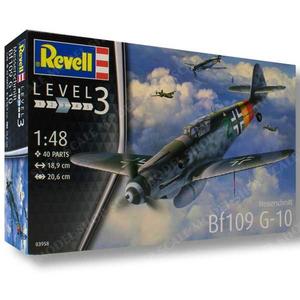 Revell of Germany . RVL 1/48 MESSERSCHMITT BF109
