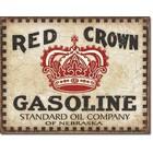 Desperate Enterprises . DPE Red Crown Gasoline Sign