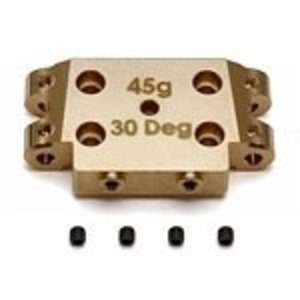 Associated Electrics . ASC BRASS BULKHEAD 30 DEG.