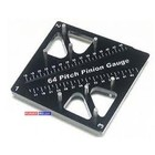 3 Racing . 3RC Pinion & Camber Gauge Blk