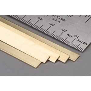 K&S Engineering . K+S Brass Strips 36 X .032 X 1/4
