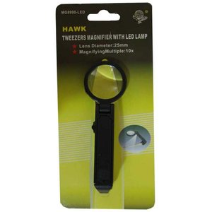 Hawk Importers Inc . HKI Magnifier Gr/Pnk/Yel/Purp