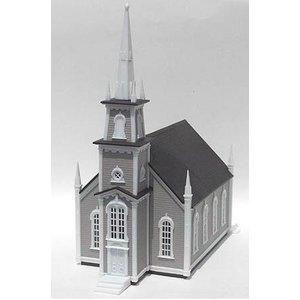 Atlas Model Railroad Co . ATL HO B/U 19TH CENTURY CHURCH