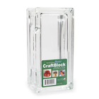 Darice . DAR (DISC) - Glass Craft Block