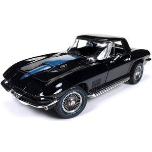 American Muscle Diecast . AMD 1/18 67 Corvette Roadster Mcacn