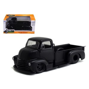 Jada Toys . JAD 1/24 52 CHEV COE FLTBED PRIME BLK