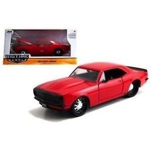 Jada Toys . JAD 1/24 67 Camaro Gloss Red